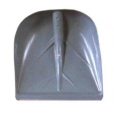 Лопата снеговая 400х380 мм с накладкой, D35, без черенка 007047